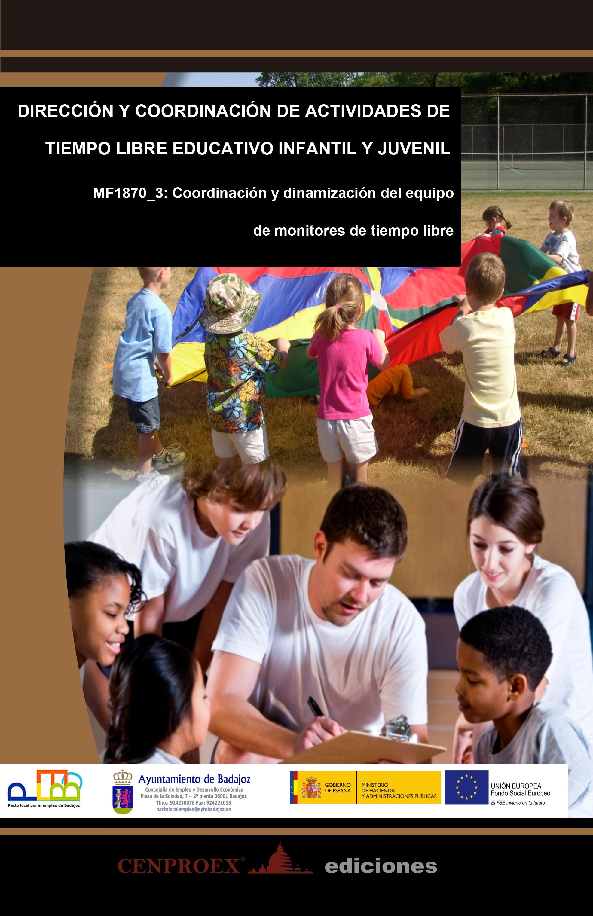 104. Dirección y Coordinación de Actividades de Tiempo Libre Educativo Infantil y Juvenil