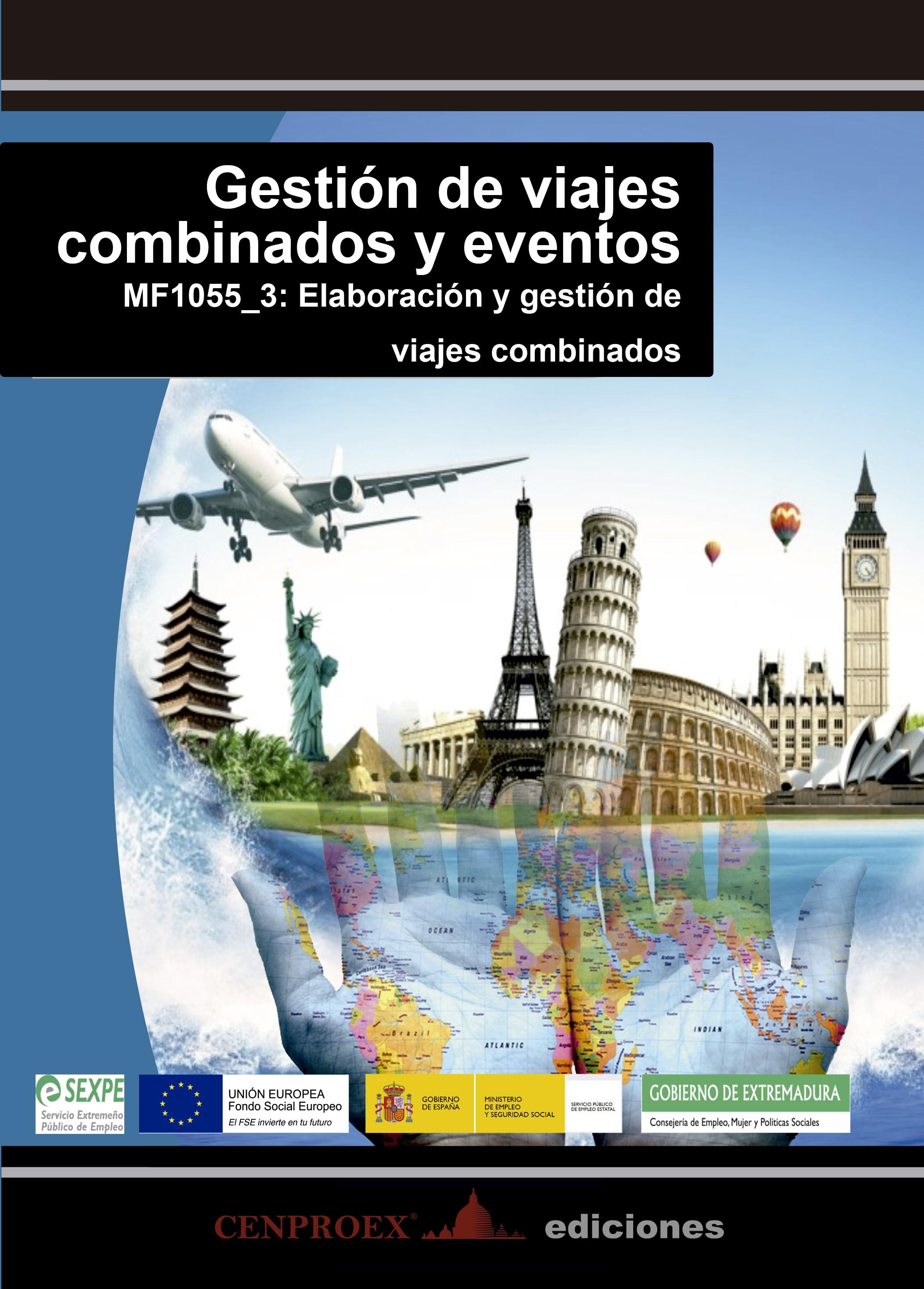 105. Gestión de viajes combinados y eventos