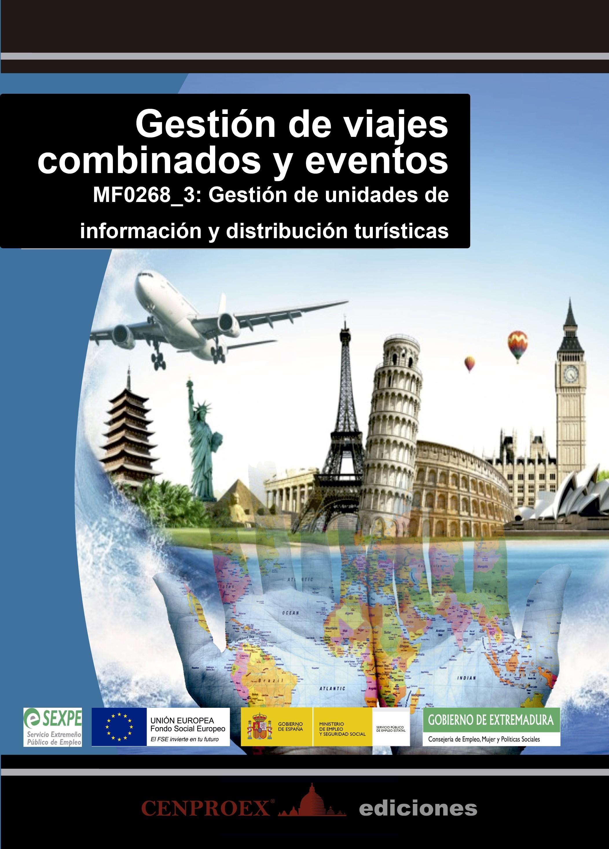 107. Gestión de viajes combinados y eventos