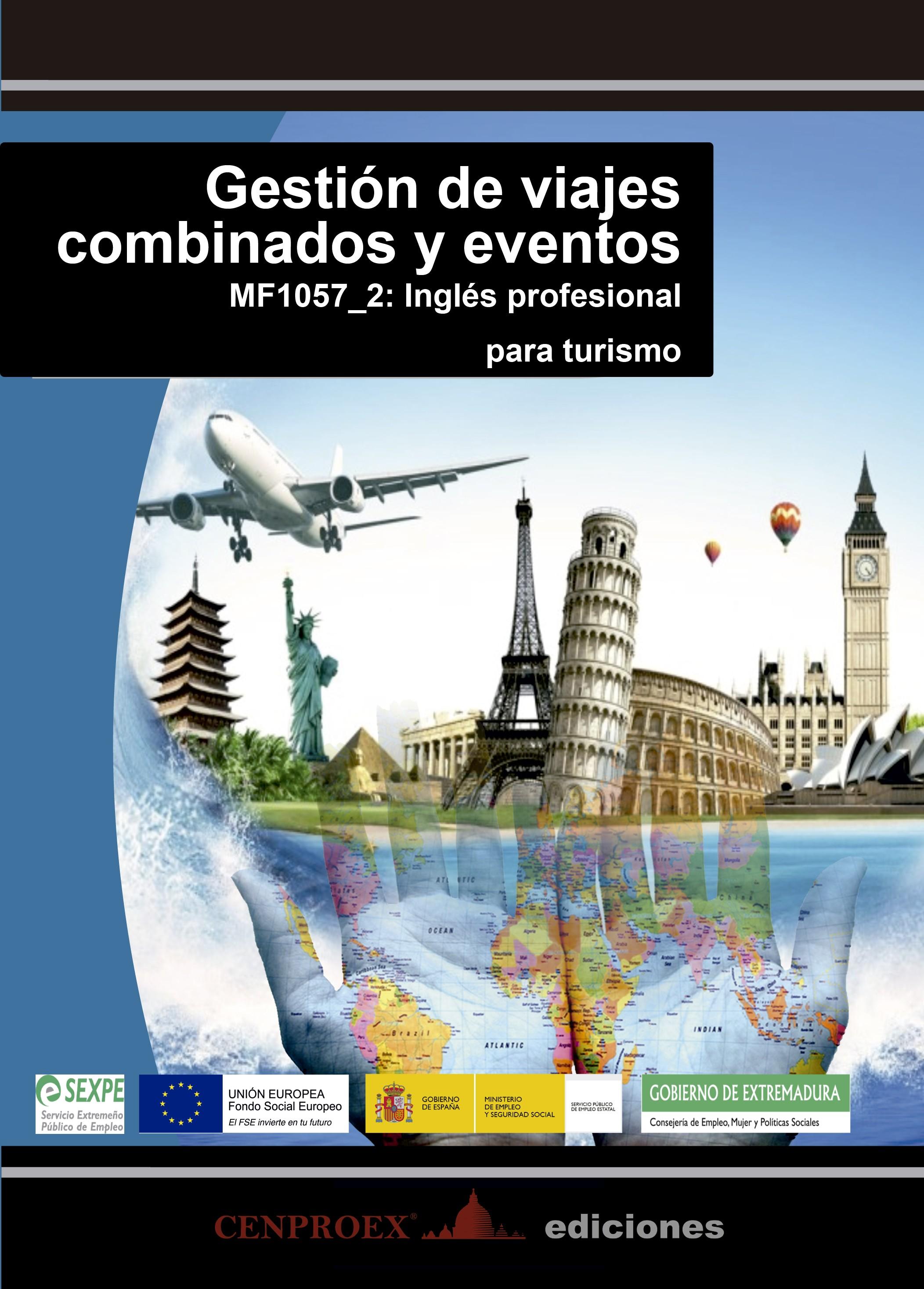 108. Gestión de viajes combinados y eventos
