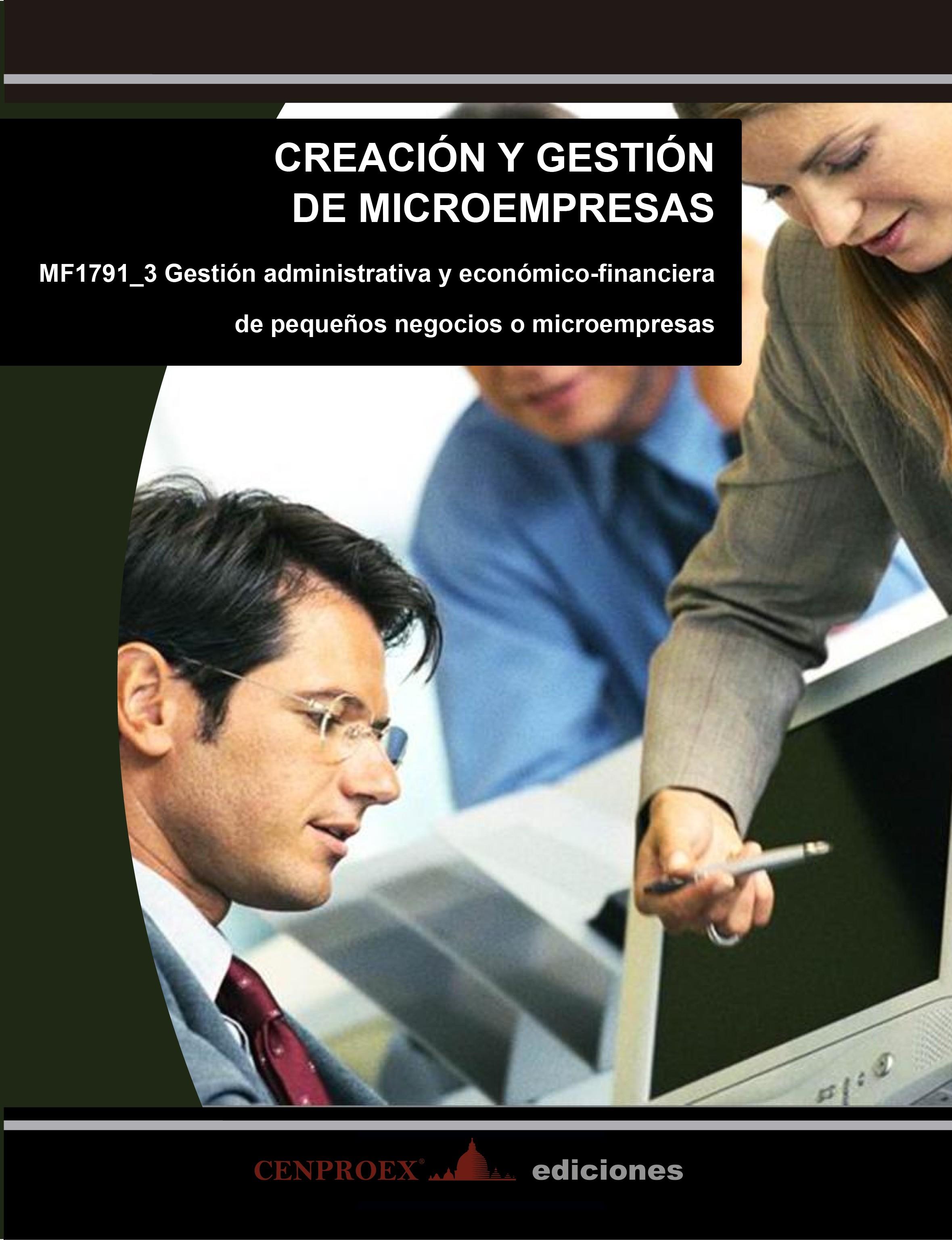 112. Creación y Gestión de Microempresas