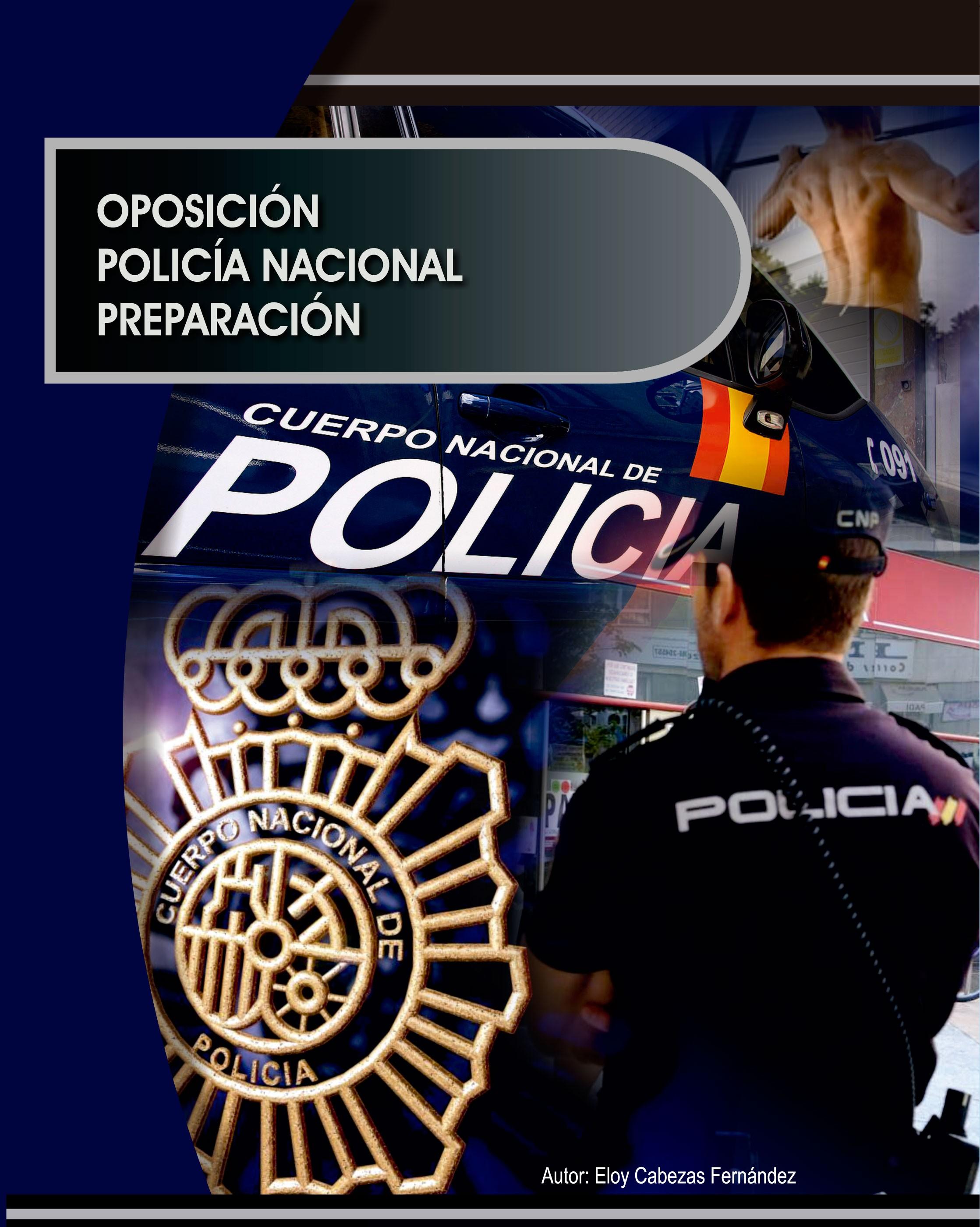 701. Temario Policia Nacional.