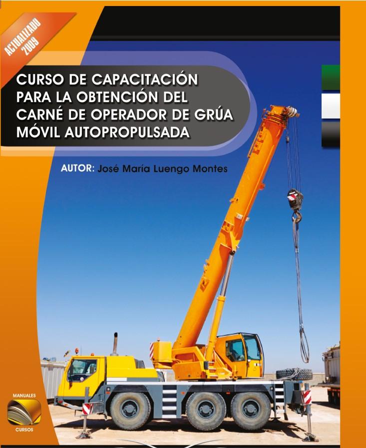 301. Manual para Carné Operador Grúa Móvil Autopropulsada.