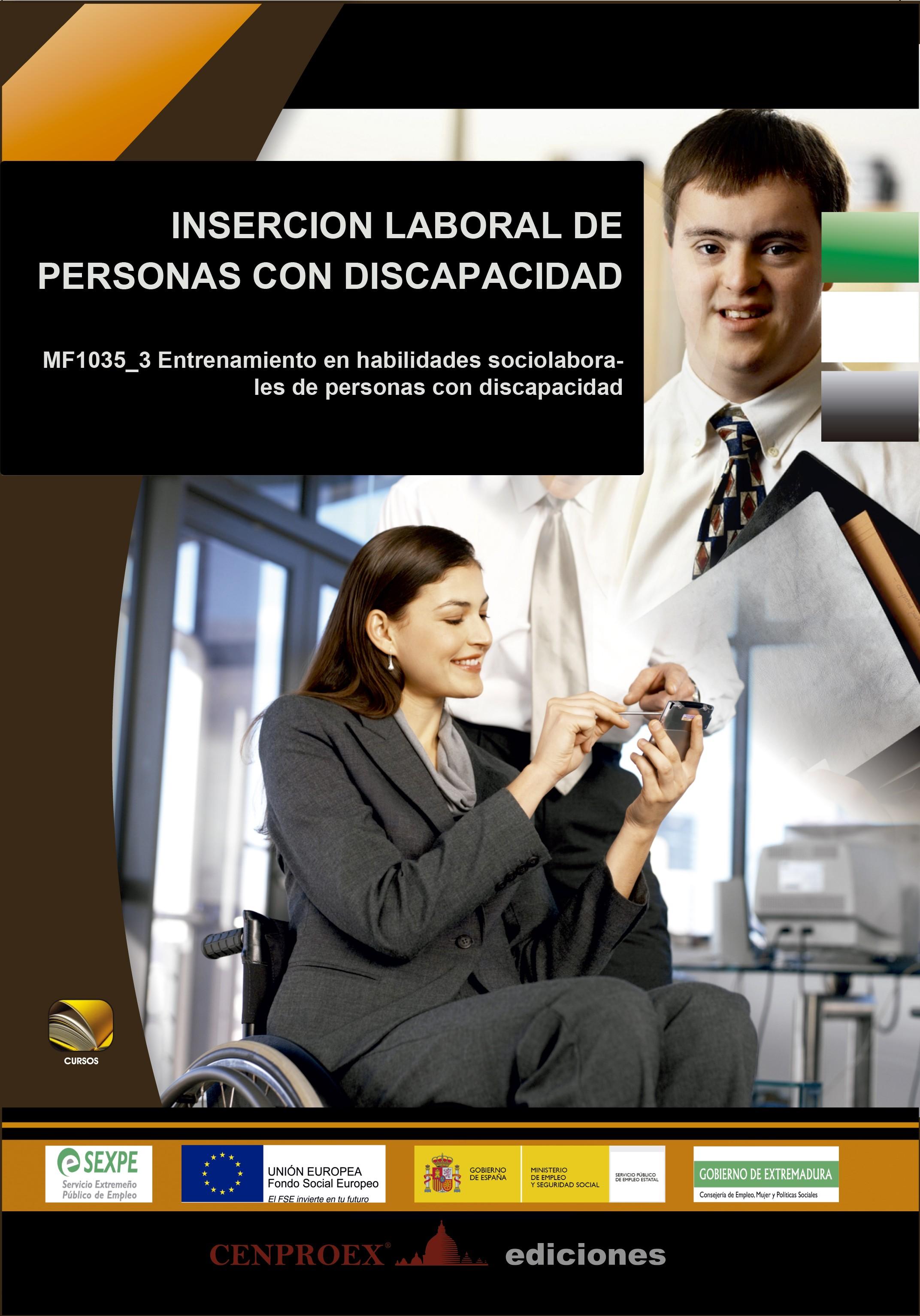 123. Inserción Laboral de personas con discapacidad